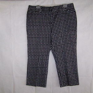 Ann Taylor Signature Crop Capri Pants 12 Stretch